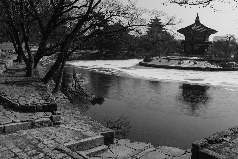 Gyeongbokgung central temple.
