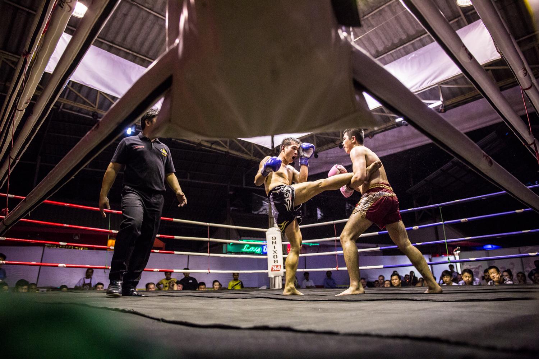 Muay Thai was a ton of fun.