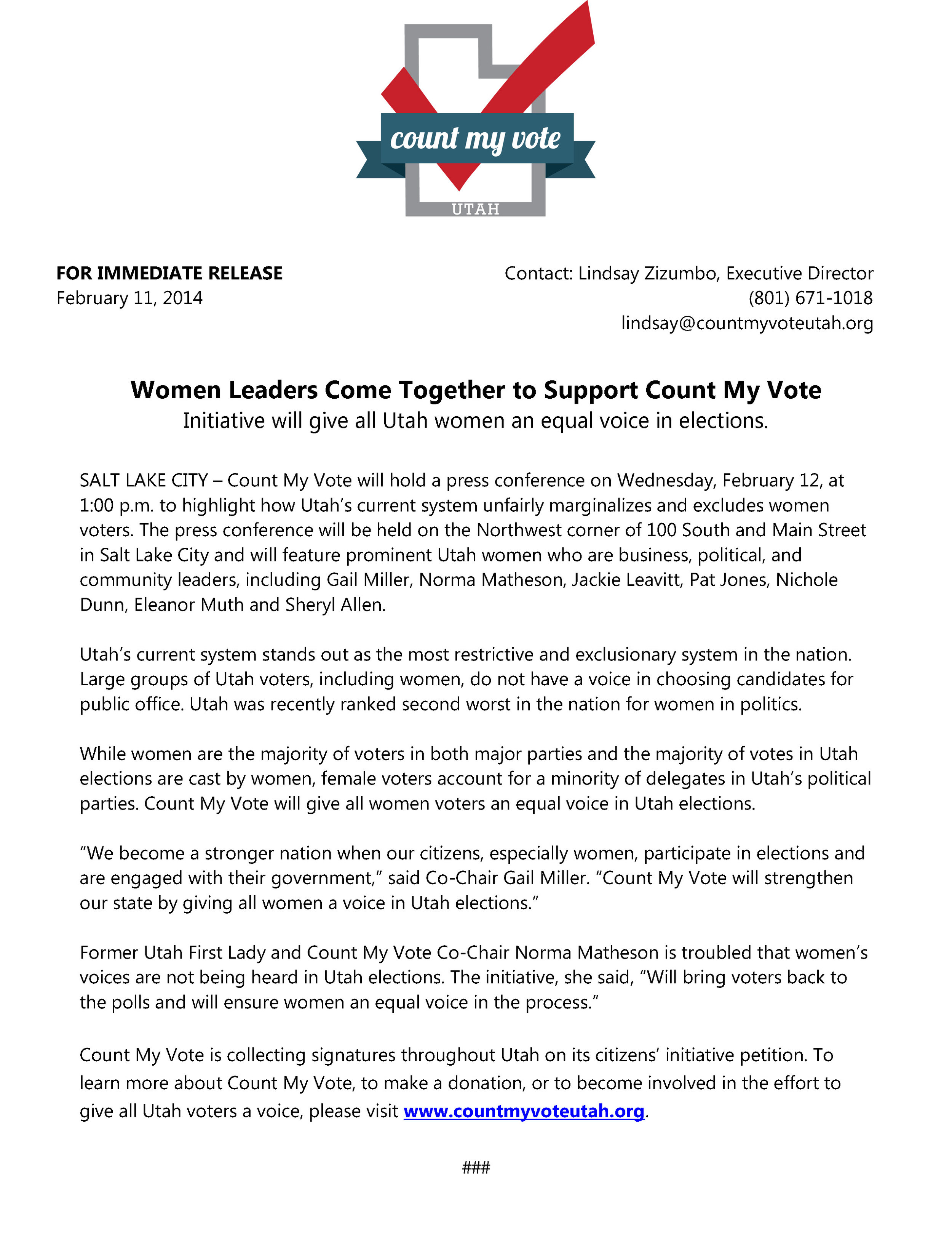 Women Leaders Come Together to Support Count My Vote.jpg
