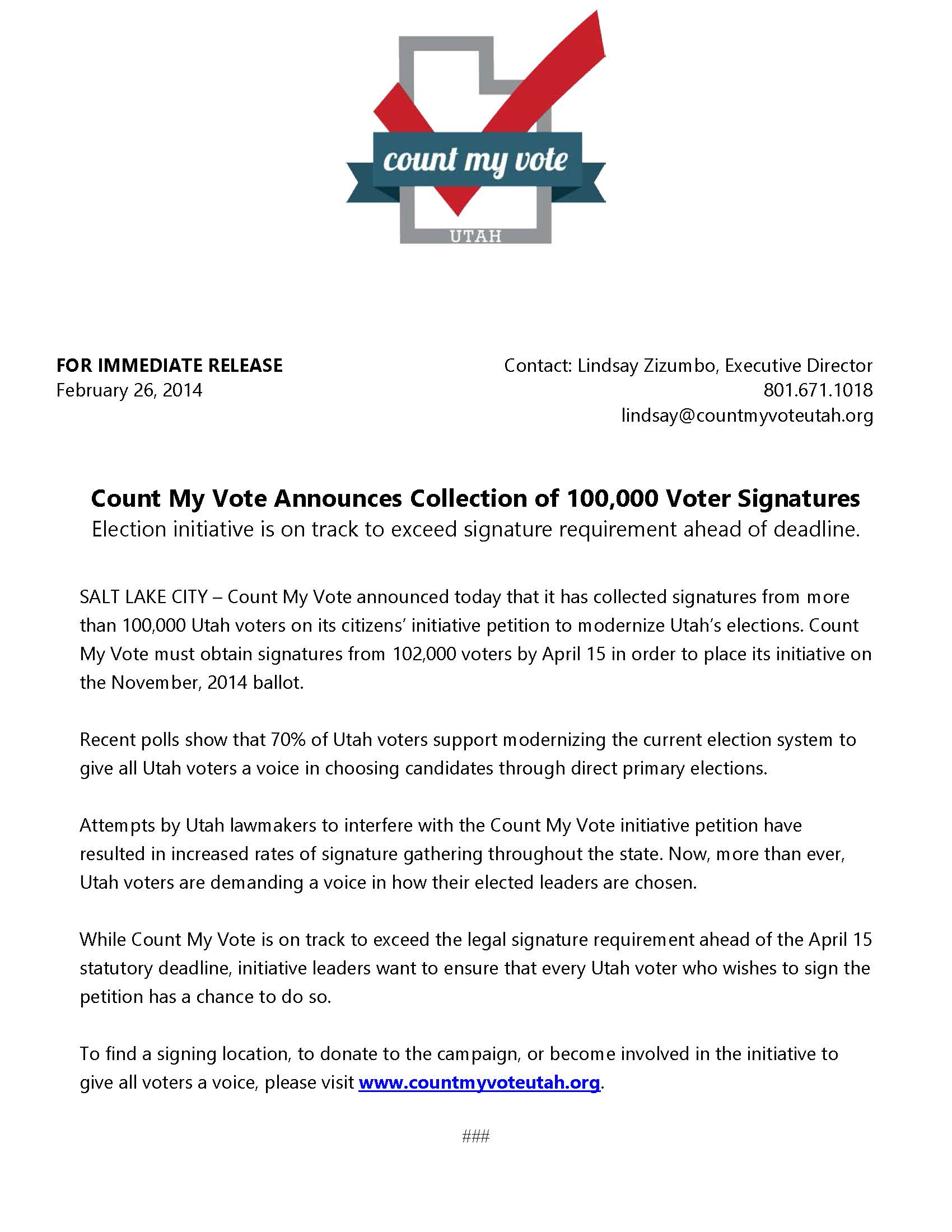 Count My Vote Announces Collection of 100,000 Voter Signatures.jpg