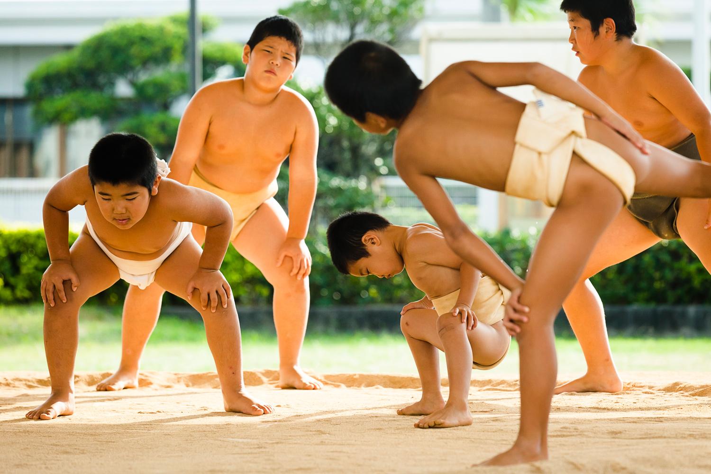 Sumo Wrestling Club, Tokunoshima Island, Japan