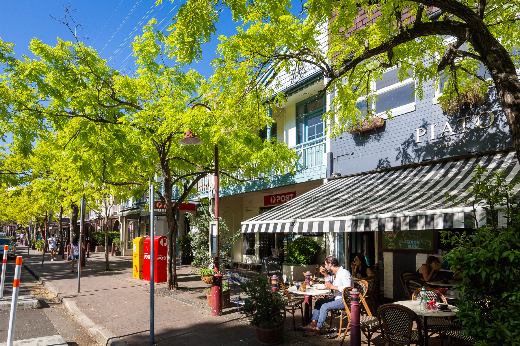 Cafes, shops and restaurants in McMahons Point Village - a 5 minute walk away.