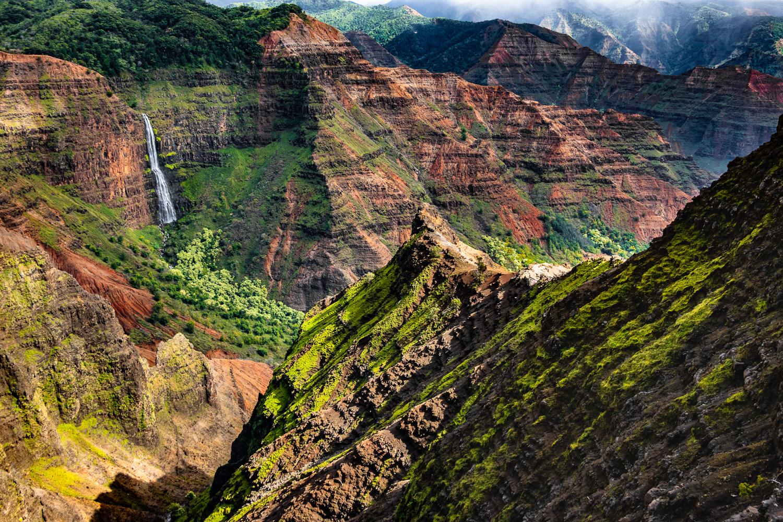 Waipo`o Falls