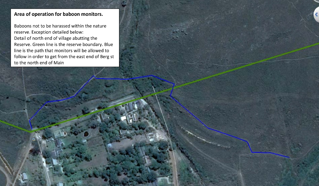 Baboon Buffer Zone 1