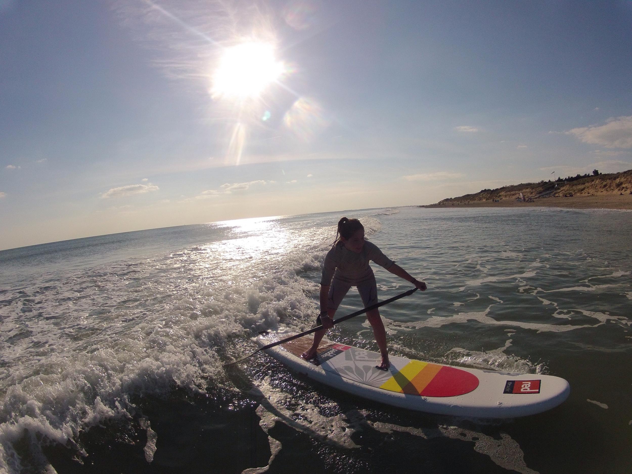 Sup Surfing en Red Paddle 10' venus