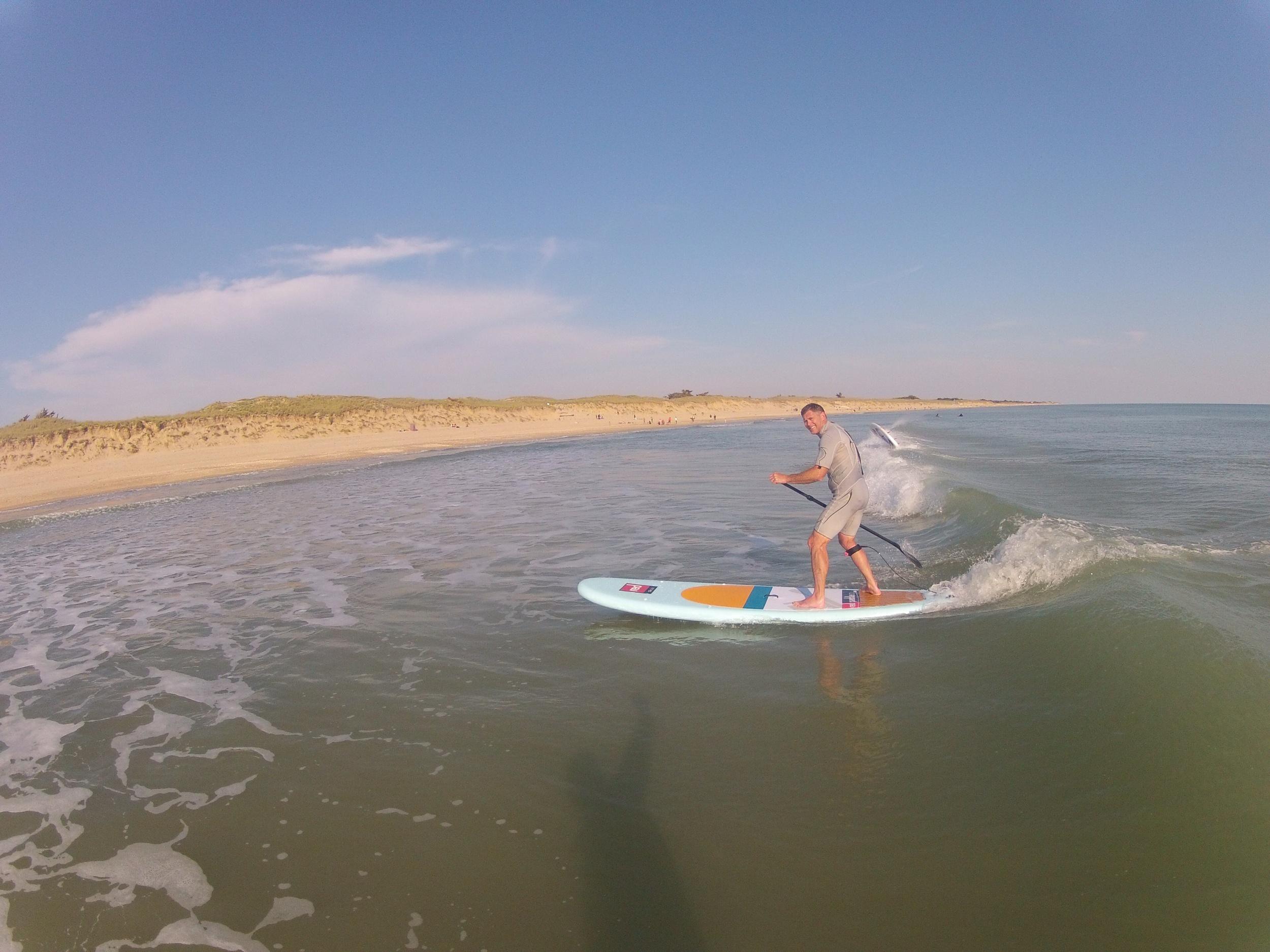 Alexandre perfectionnement SUP Surfing