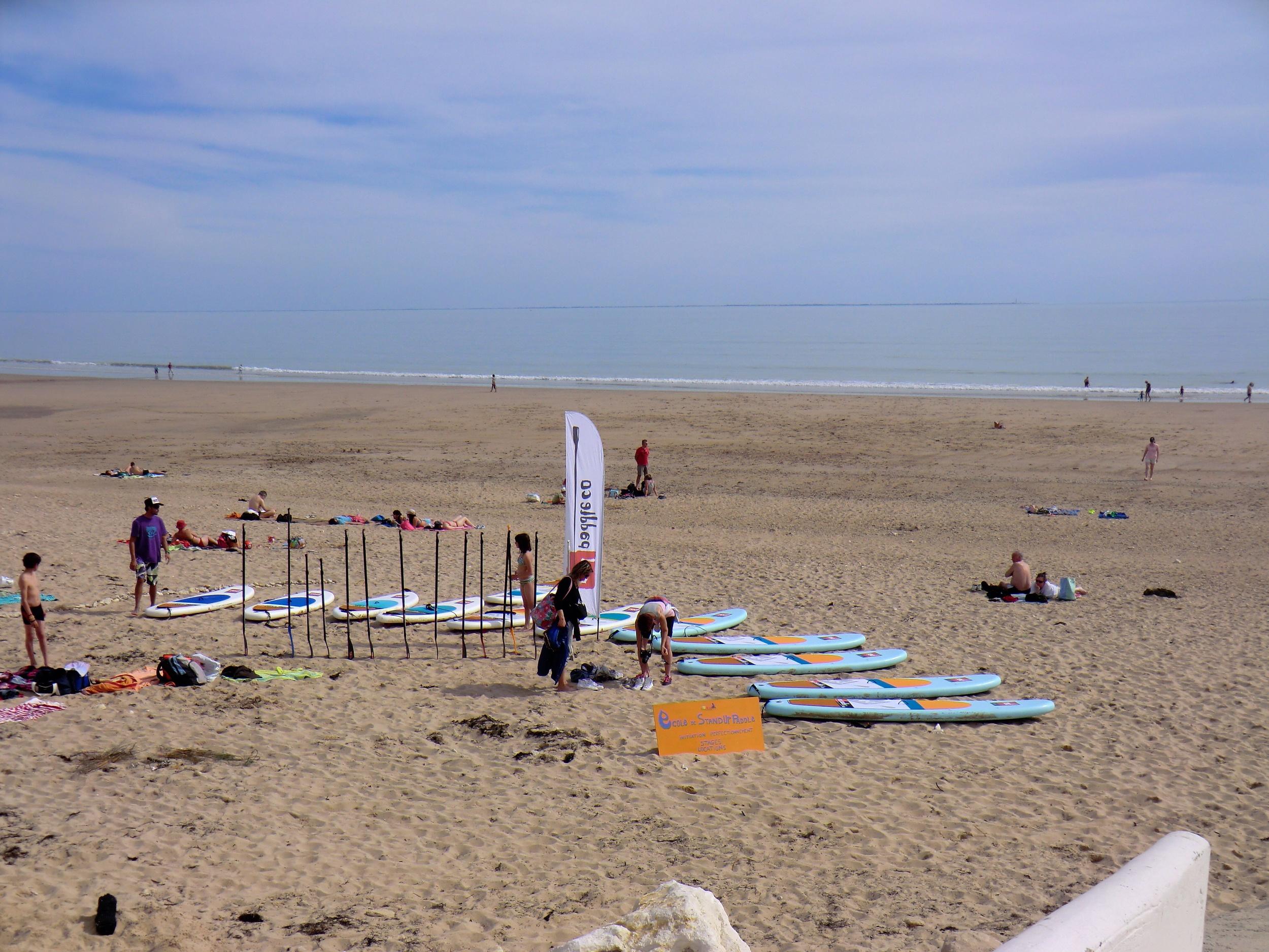 Papaï Paddle, école de stand Up Paddle sur l'Île de Ré : cours, stages, randonnées, location