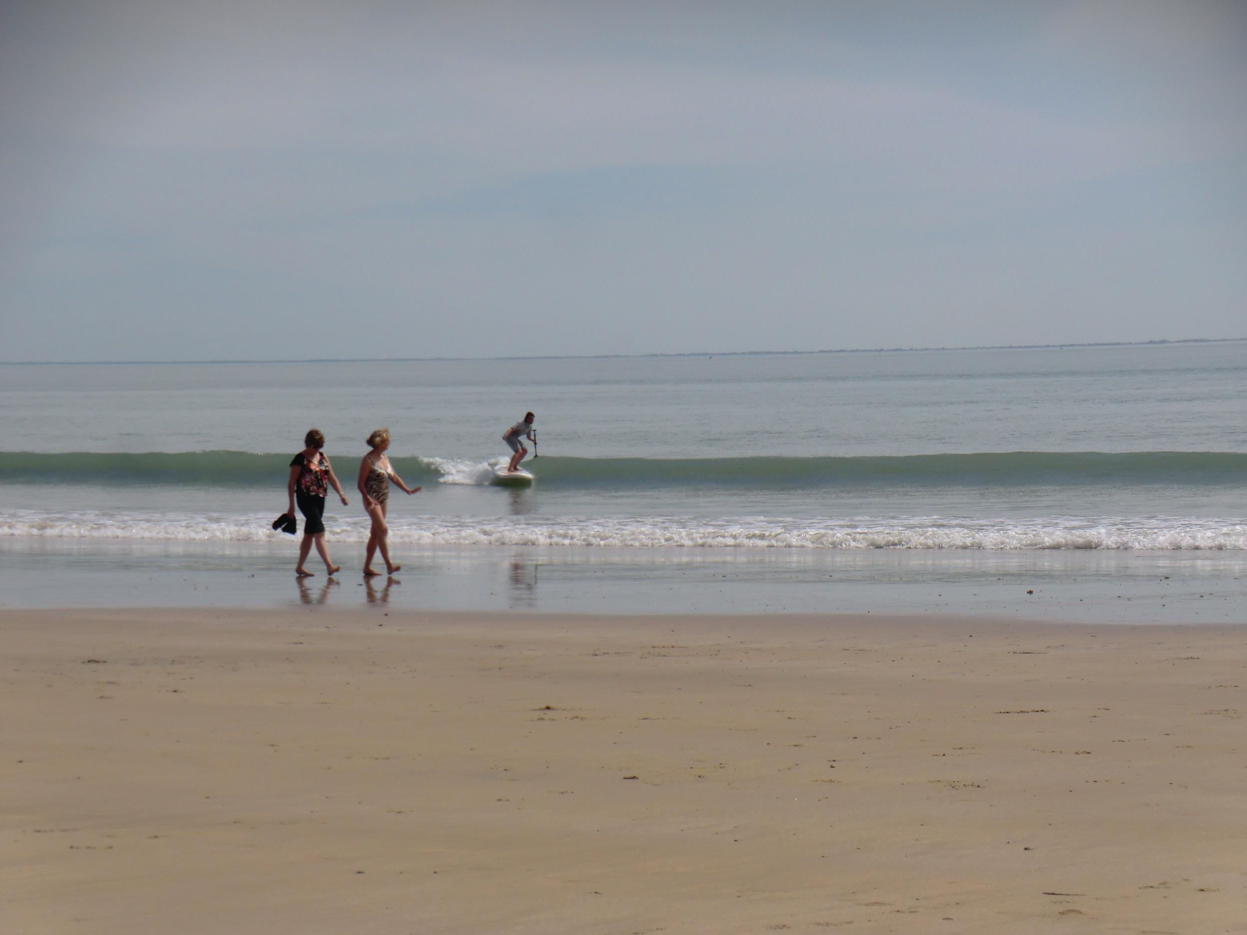 SUP Surfing, plage des Gollandières