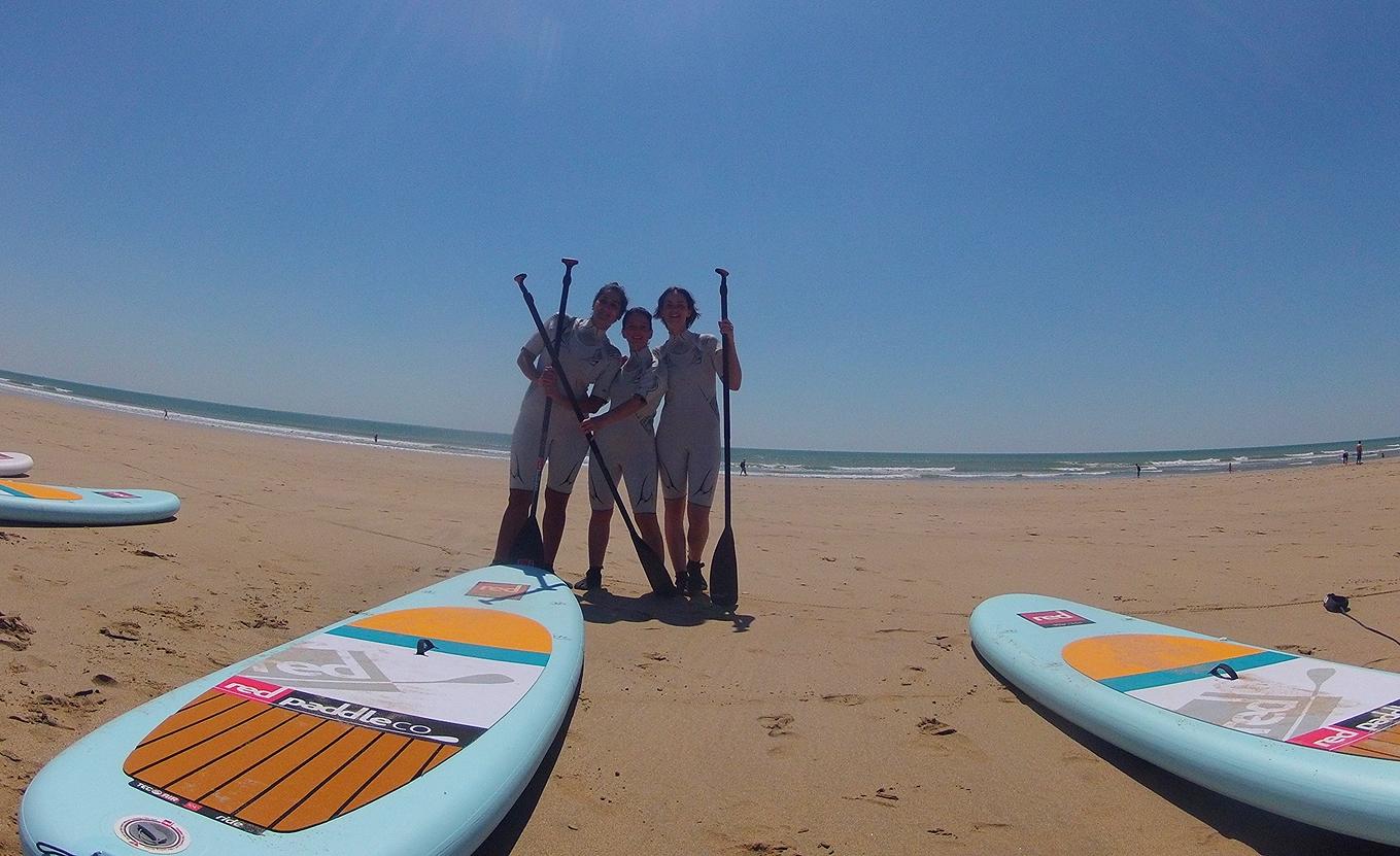 photo groupe paddle