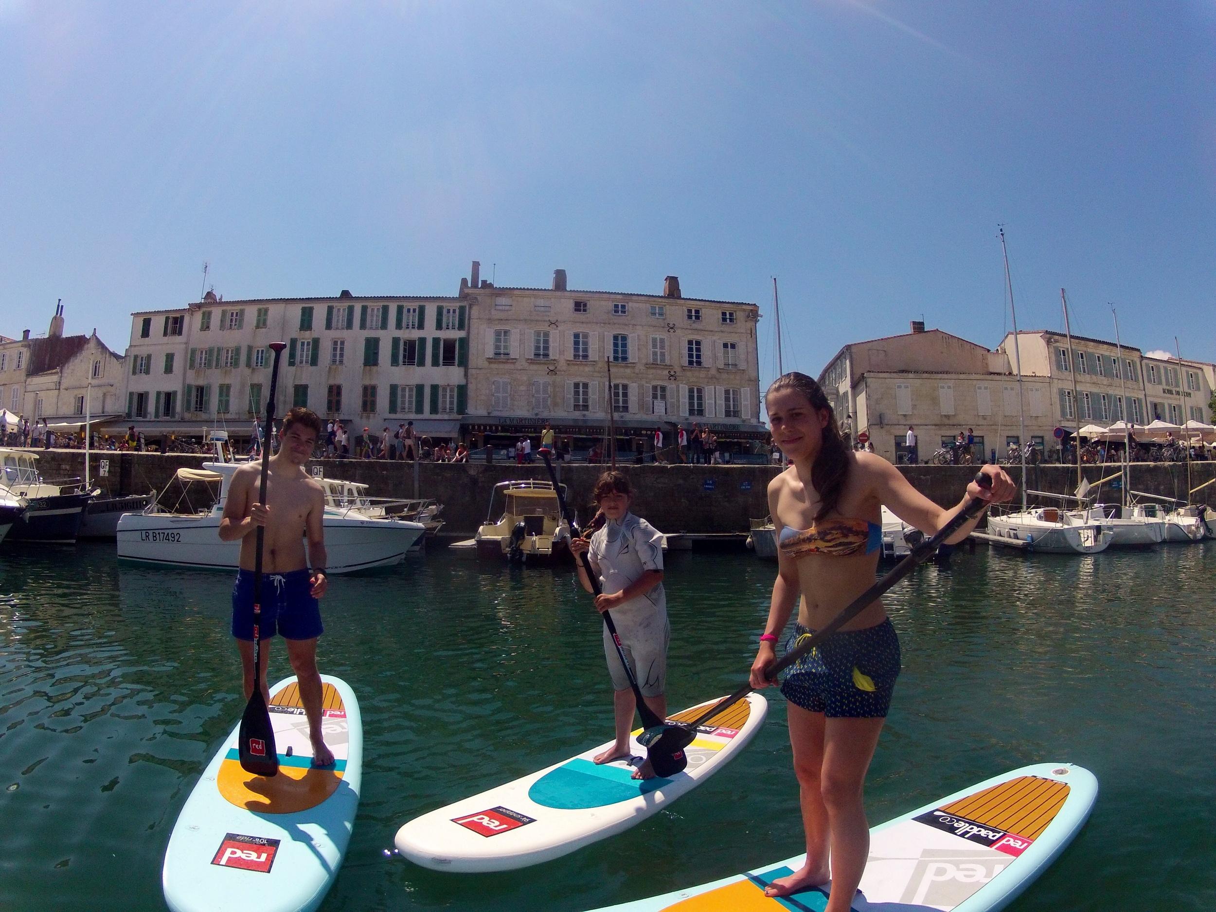 Initiation gratuite avec Papaï Paddle - photo GoPro