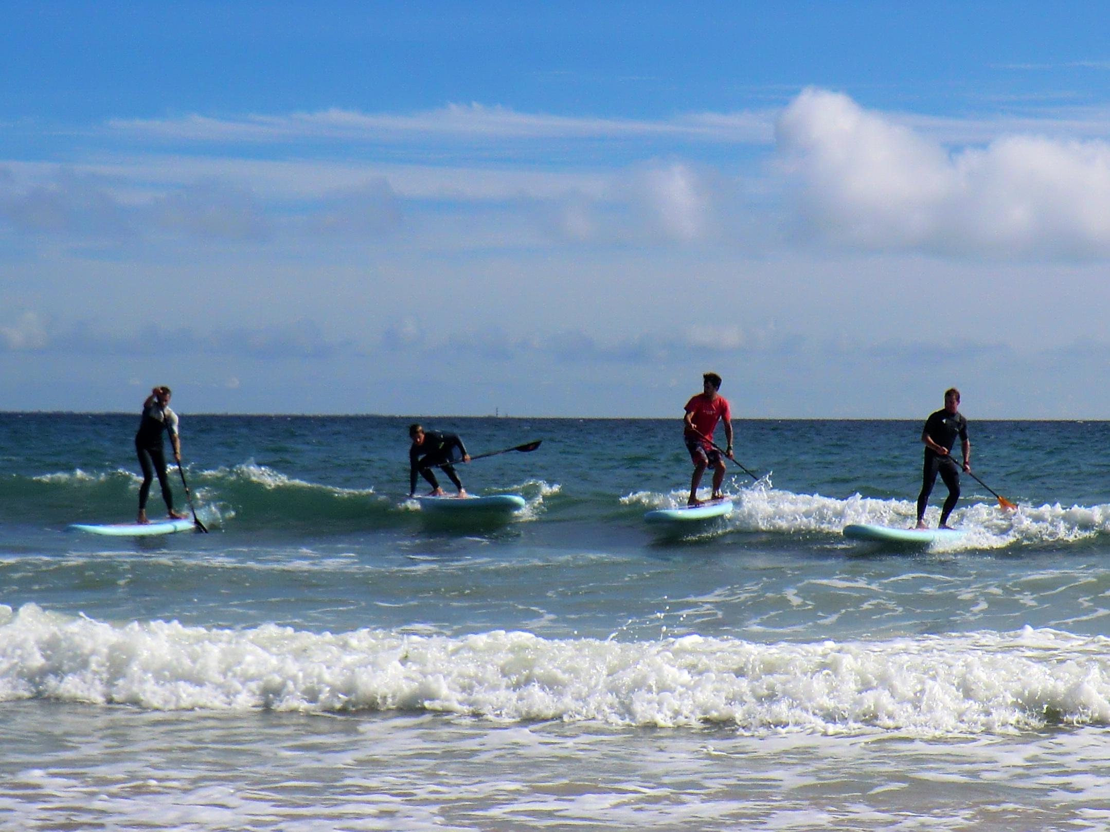 SUP Surfing au Bois Plage