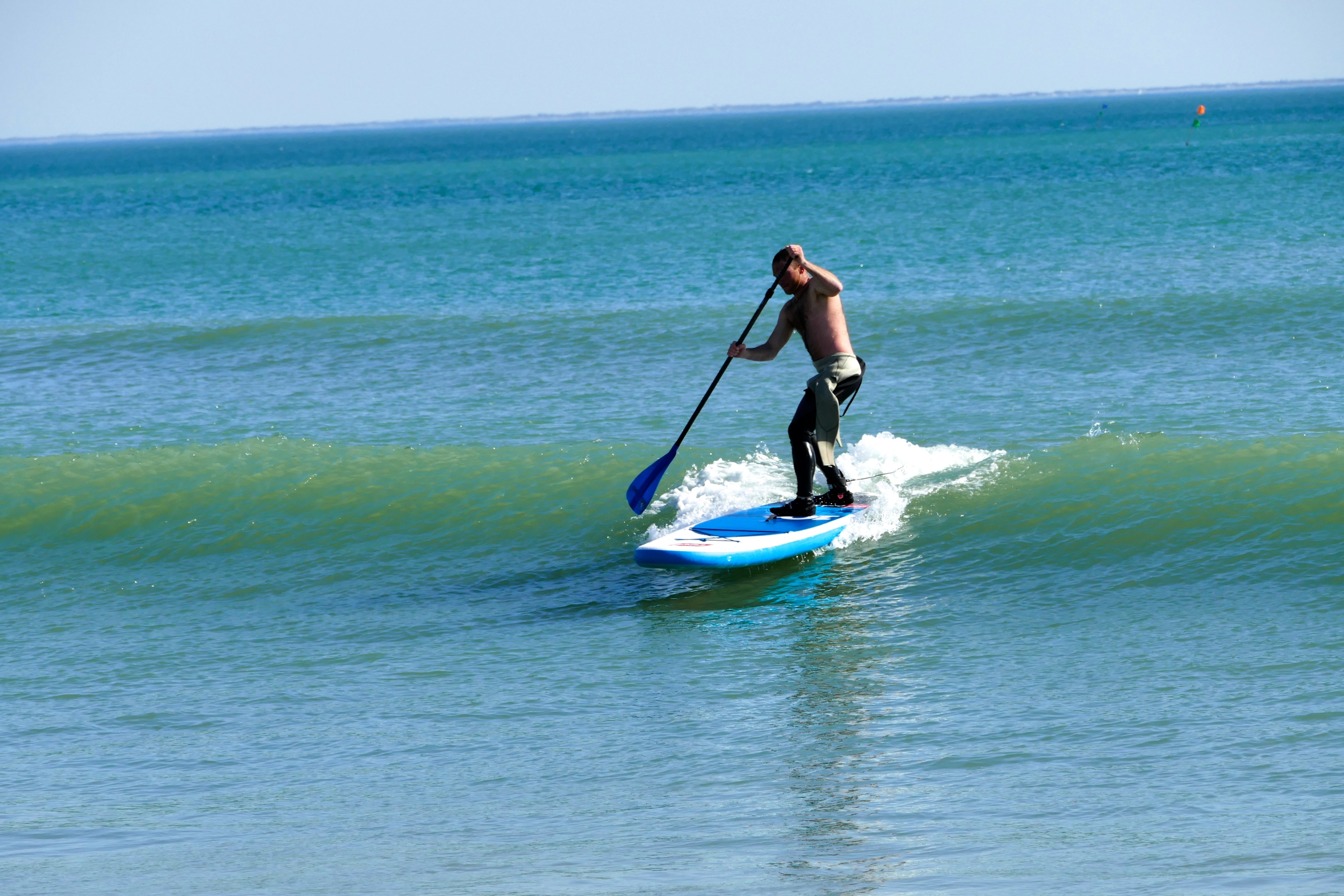 Initiation au SUP Surfing en 10'6 Ride de Red Paddle