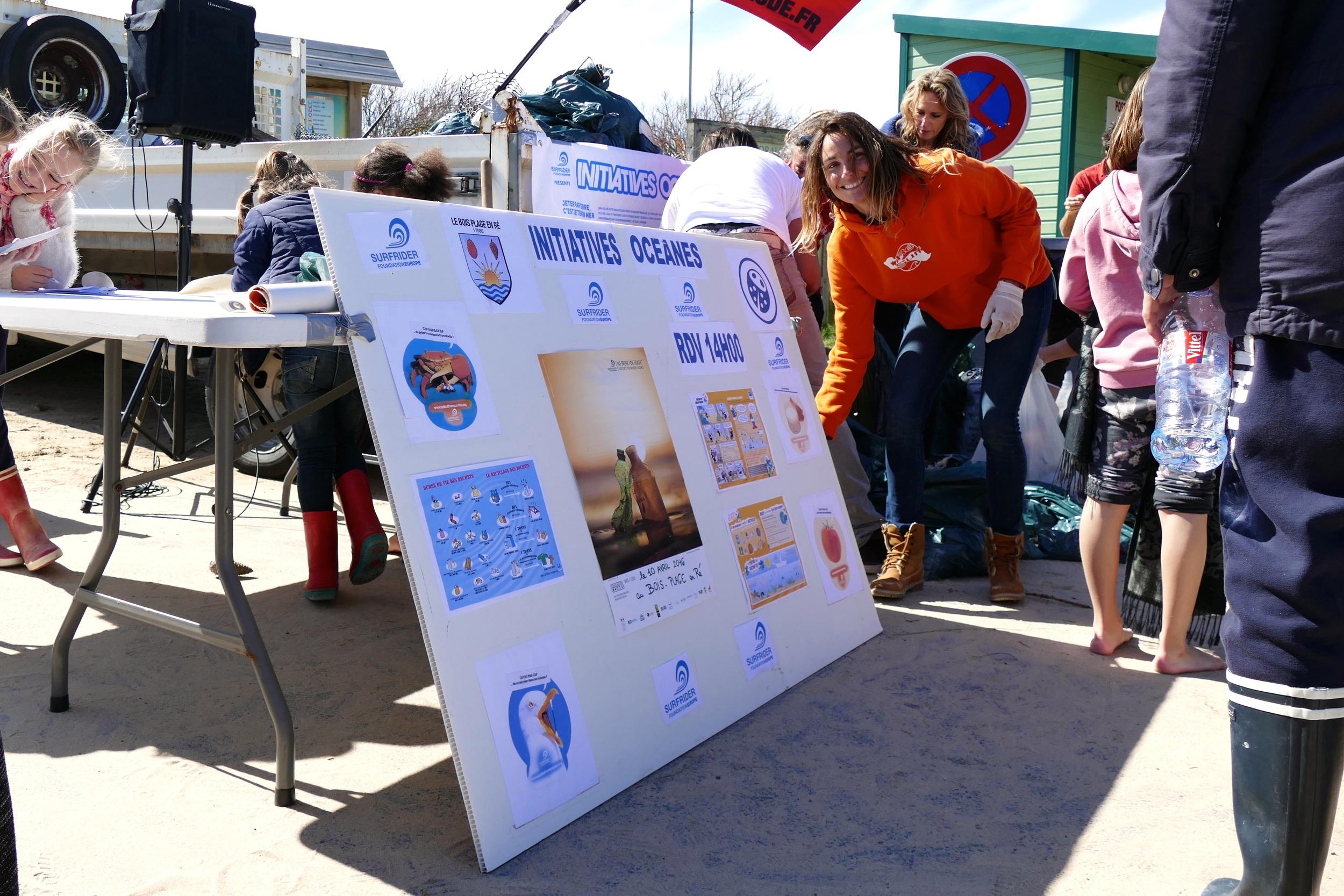 Les Initiatives Océanes de Surfriders Foundation