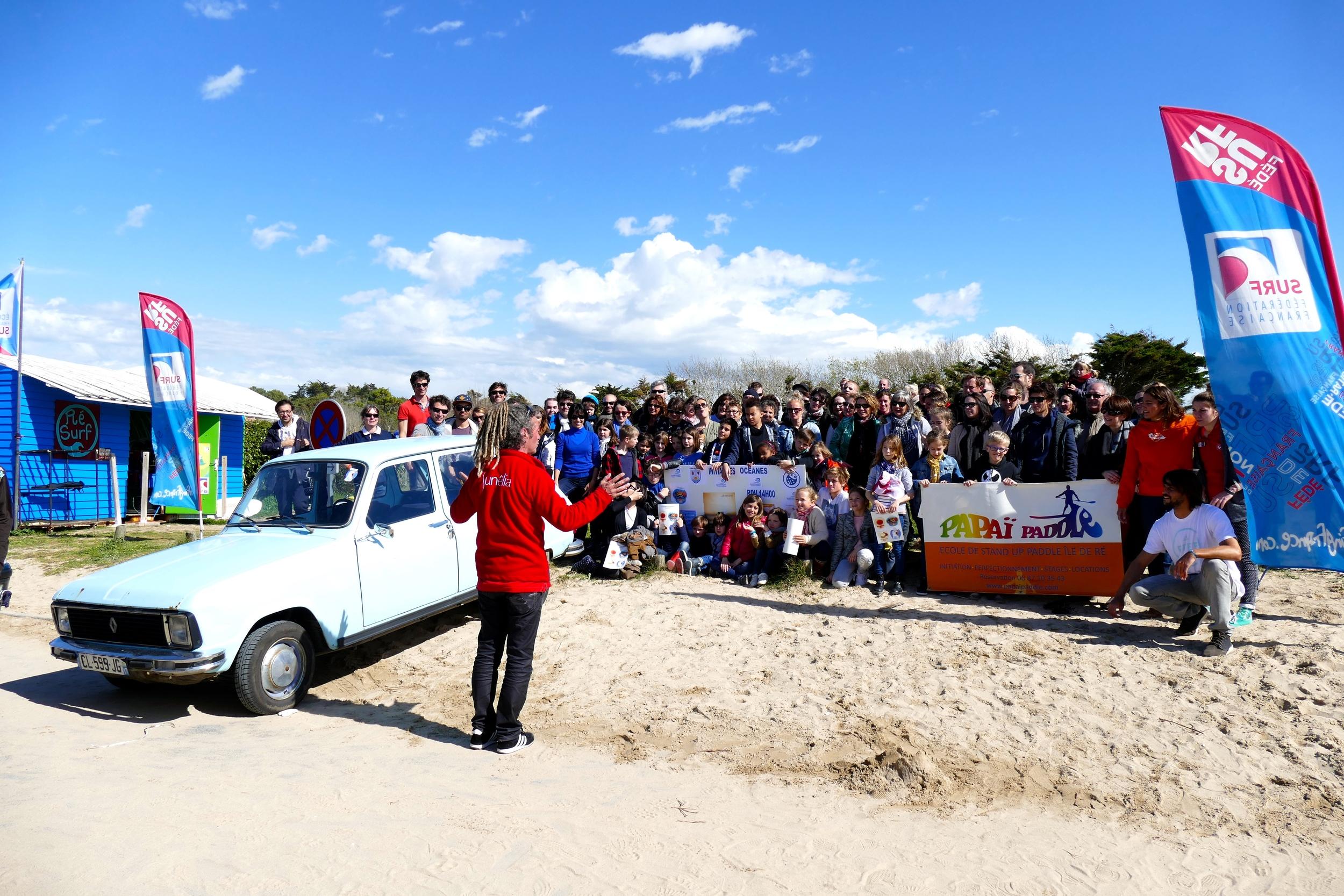 Au nom du Camping Sunêlia Interlude, du Surf Club Rétais, de la Cabane Verte,de Papaï Paddle : un grand merci à tous !