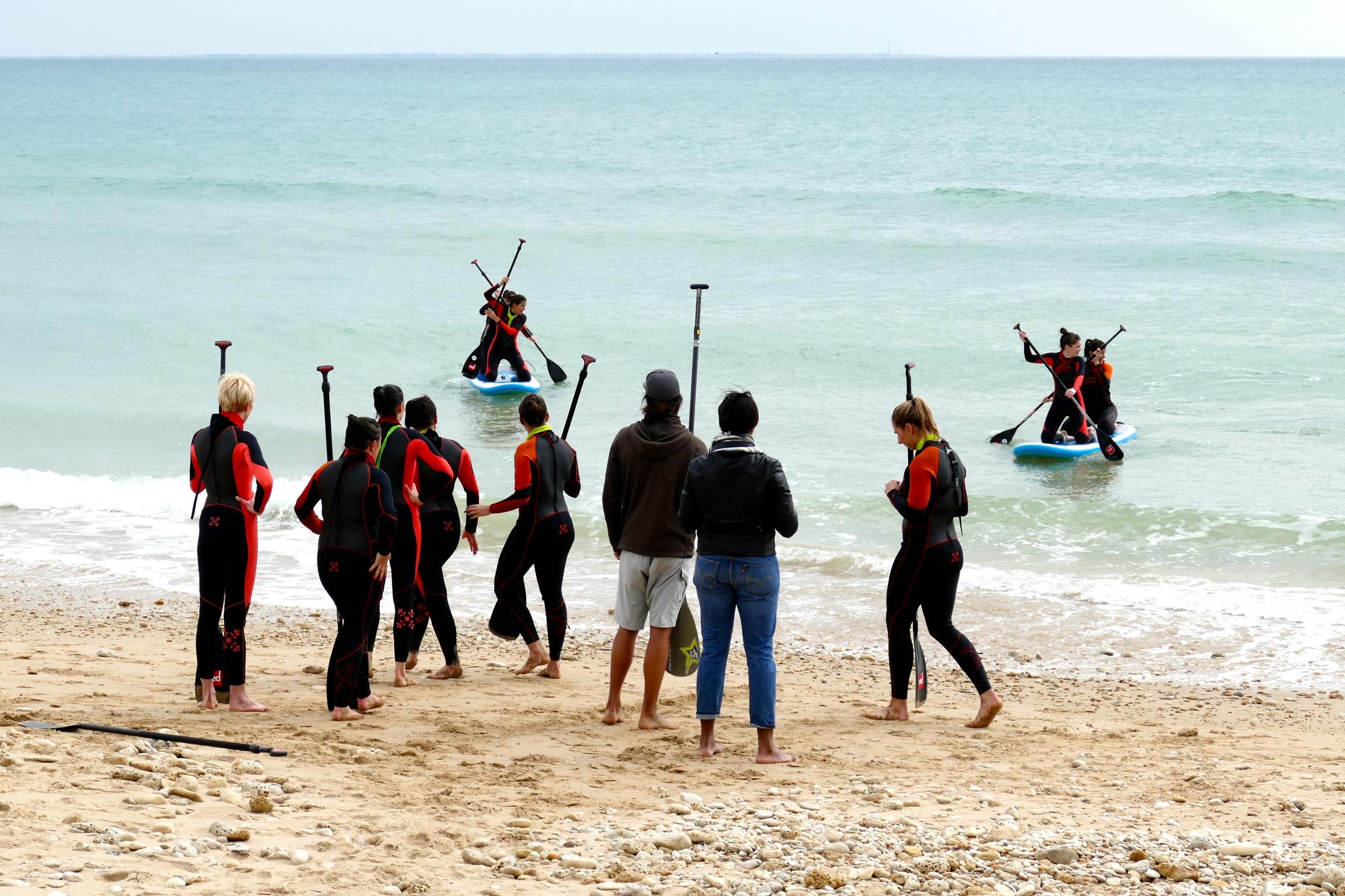 EVJF la Rochelle Ile de Ré Stand Up Paddle