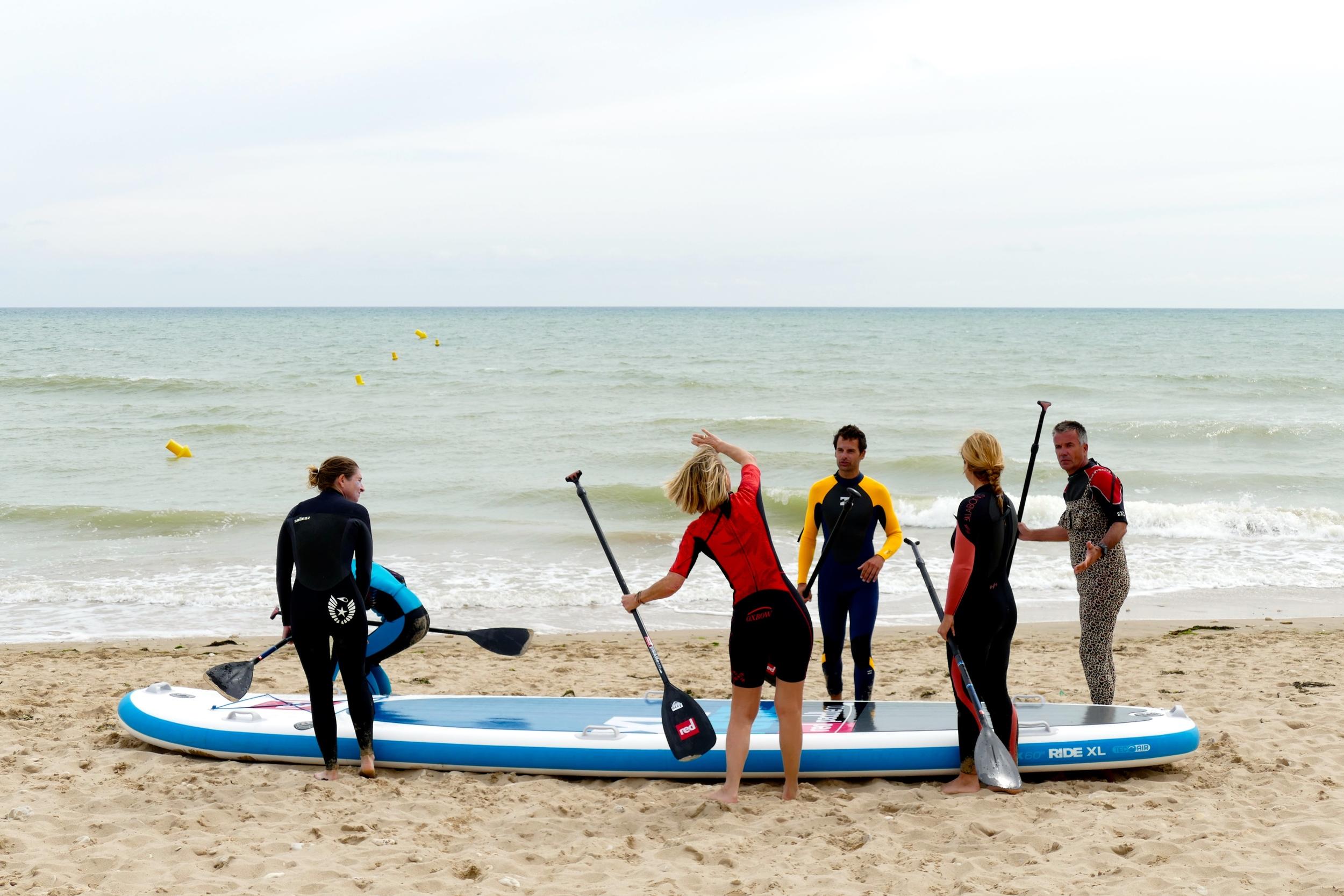 Epreuve de SUP Surfing en XL Red Paddle Co