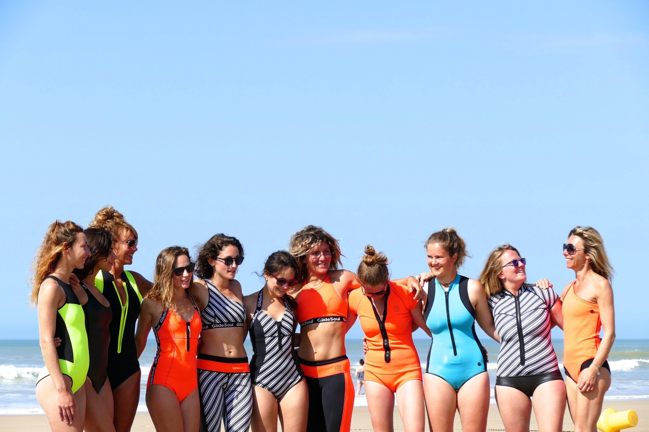 Papaï Paddle - Ecole de Stand Up Paddle - Ile de Ré - Glidesoul Girls