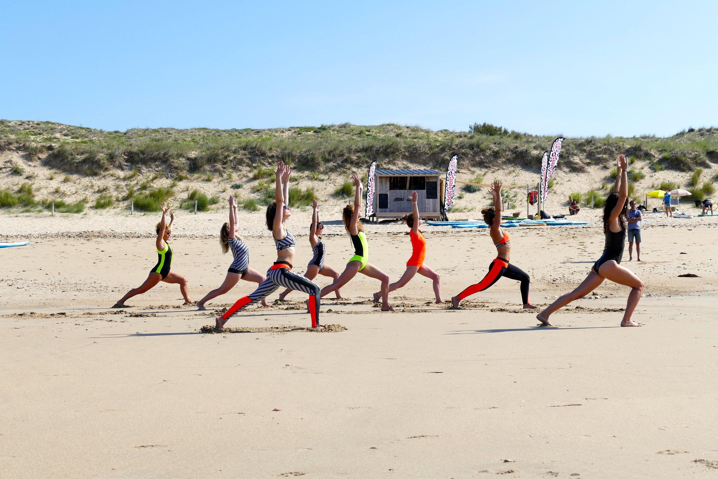 Cours de yoga avec Justine - Glidesoul Girls