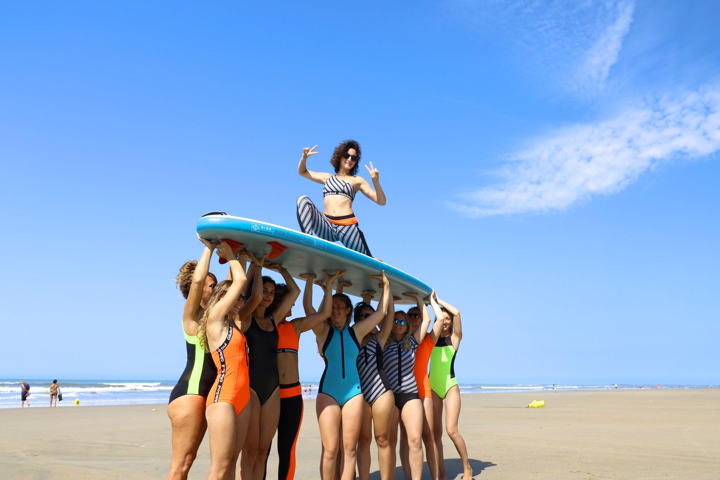 Yoga teacher - Glidesoul Girls