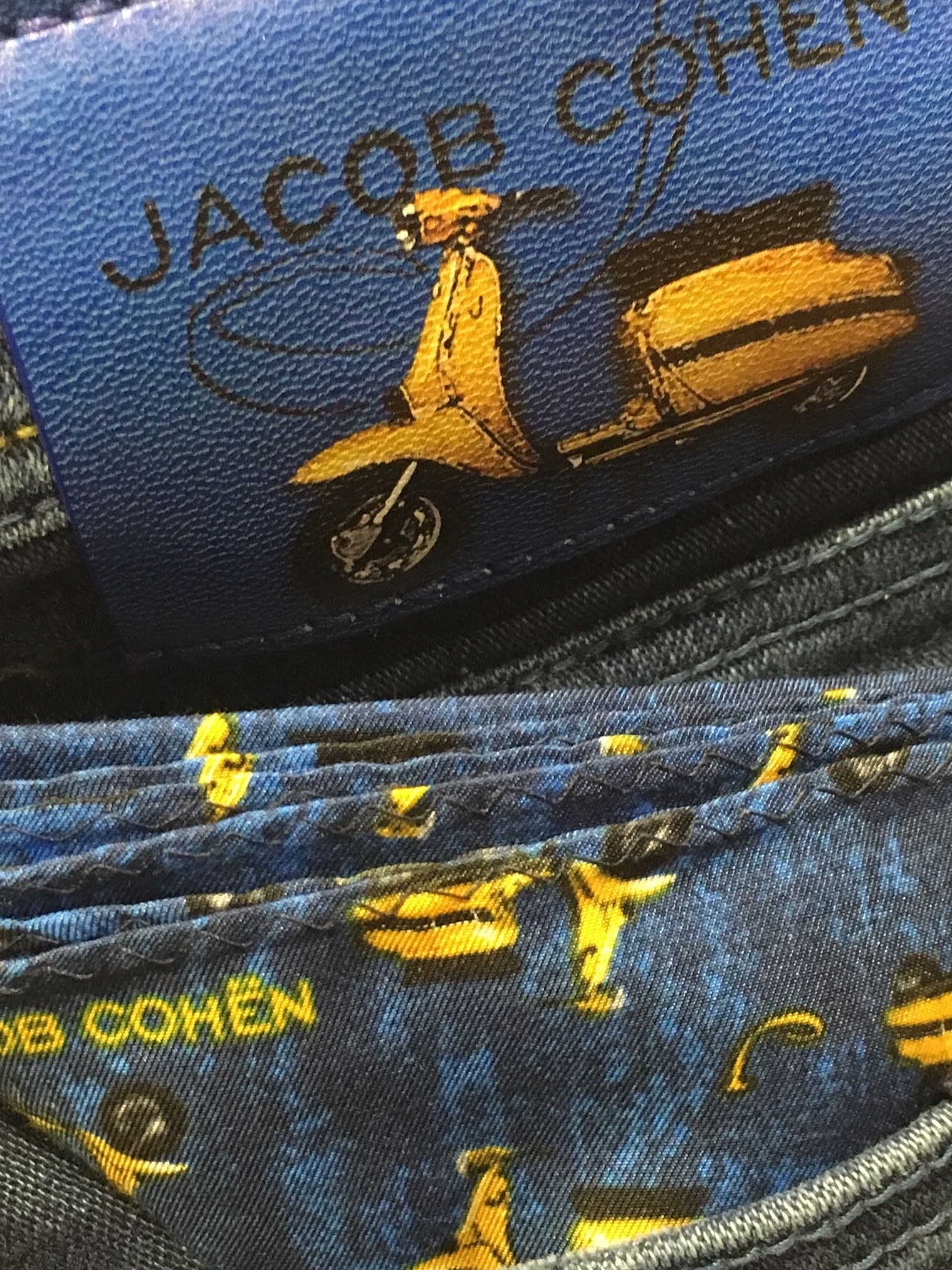 7db43cf2fa57d We have a limited number of Jacob Cohen Special Edition Lambretta Jeans  available in store now, so visit Robinsons today and make sure you snare a  pair ...