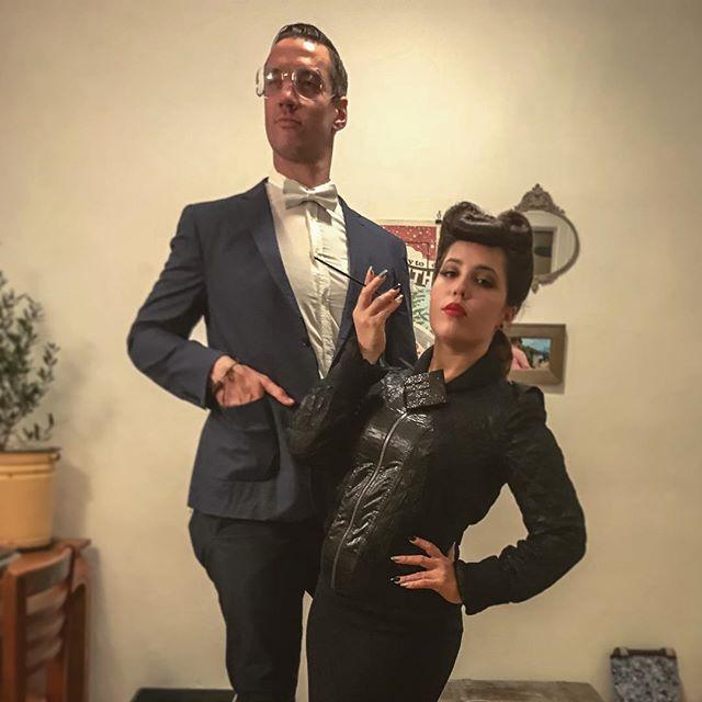 The costume that works twice as right, works half as wrong. #definitelyfailedthepun #butnailedthecostumery #halloween #dressups #3for3