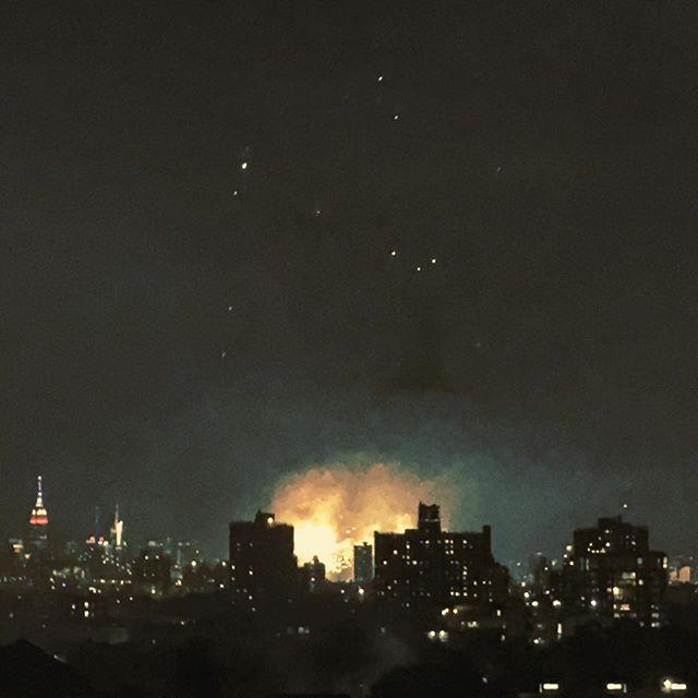 When #NY burns. - - -  #belated #4thofjuly #fireworks #thepurge #outoftheashes #anewworldorder