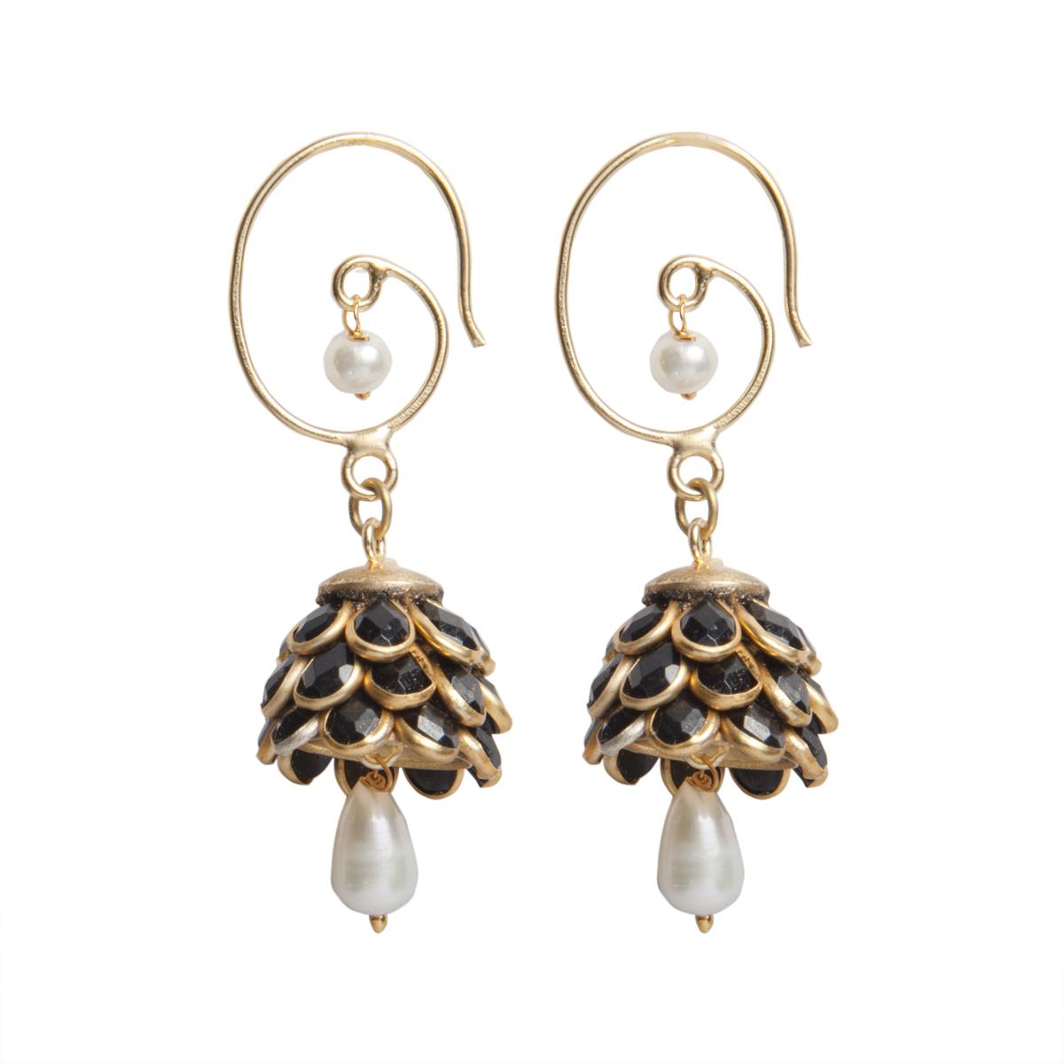 SC2515 Black Flower Cluster Earrings.jpg