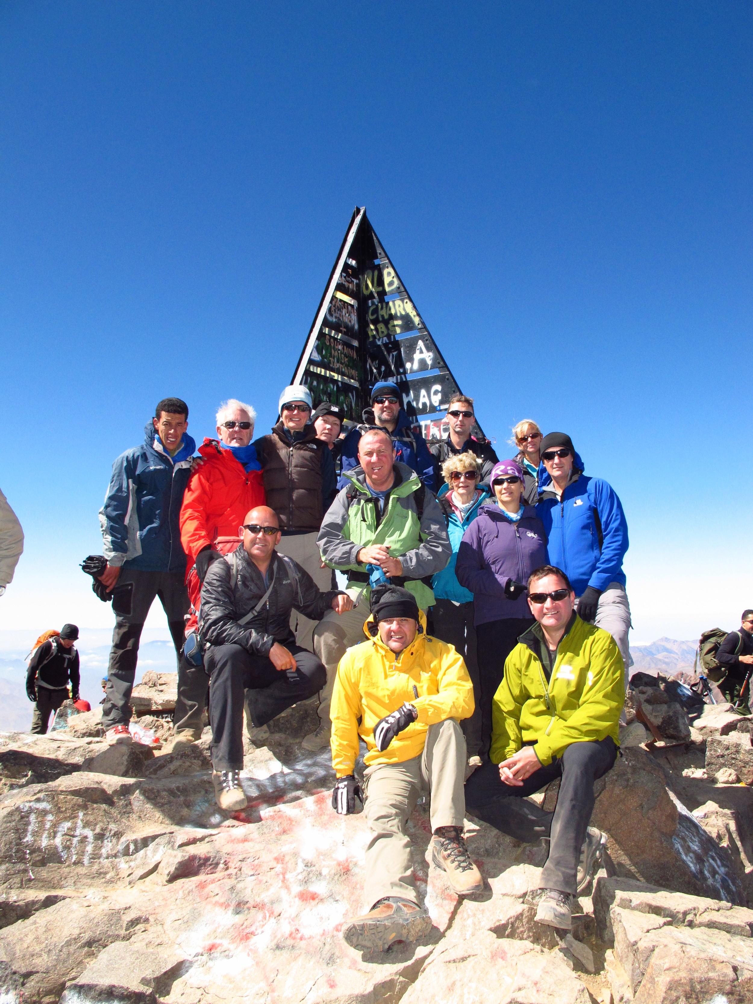 June 8th 2013 Imp Adventures summit Mt Toubkal