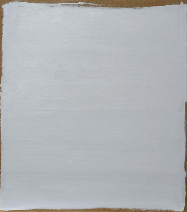 Gris 2, oleo sobre panel, 40x35cms