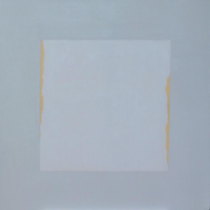 Cuadrado Imperfecto 8, oleo sobre lienzo, 80x80cms