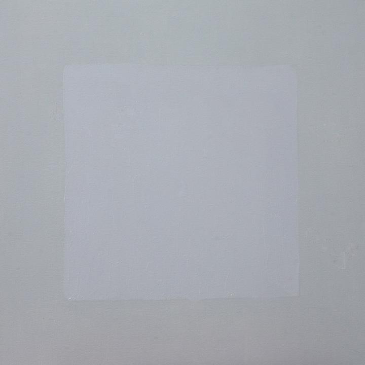 Cuadrado Imperfecto 1, oleo sobre lienzo, 80x80cms
