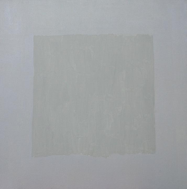 Cuadrado Imperfecto 2, oleo sobre lienzo, 80x80cms