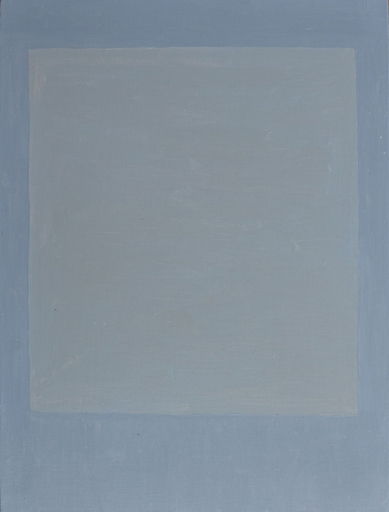 Cuadrado Imperfecto 2A, oleo sobre panel, 40x30cms