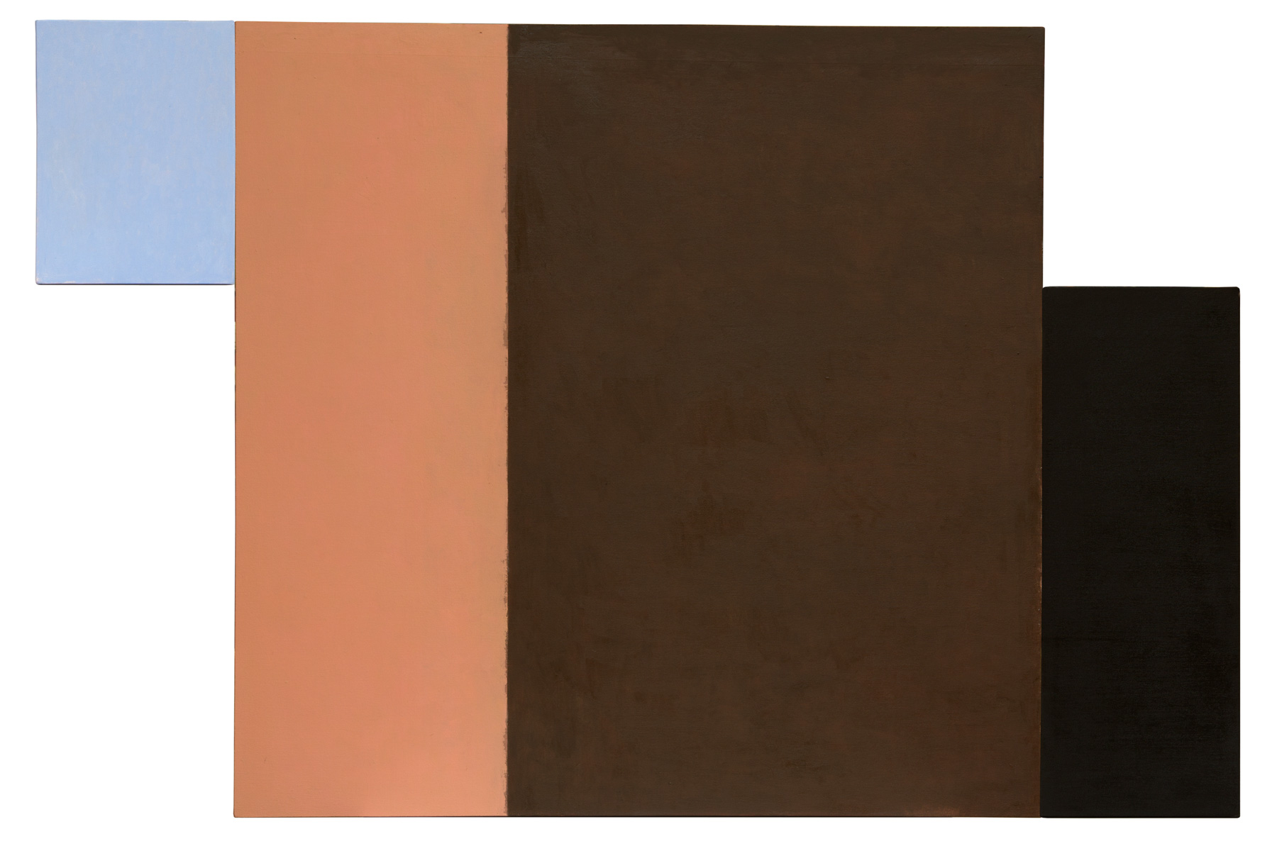 Dialogo 12, oleo sobre lienzo, 100 x 152 cms