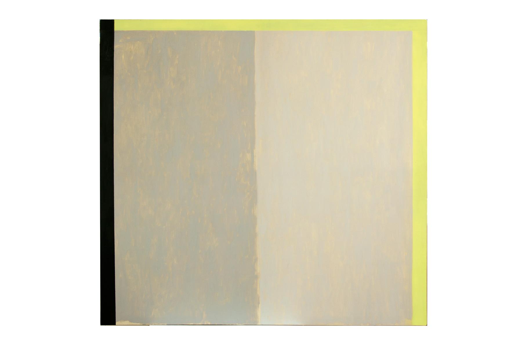 Intervencion 3, oleo sobre lienzo, 150 x 160 cms