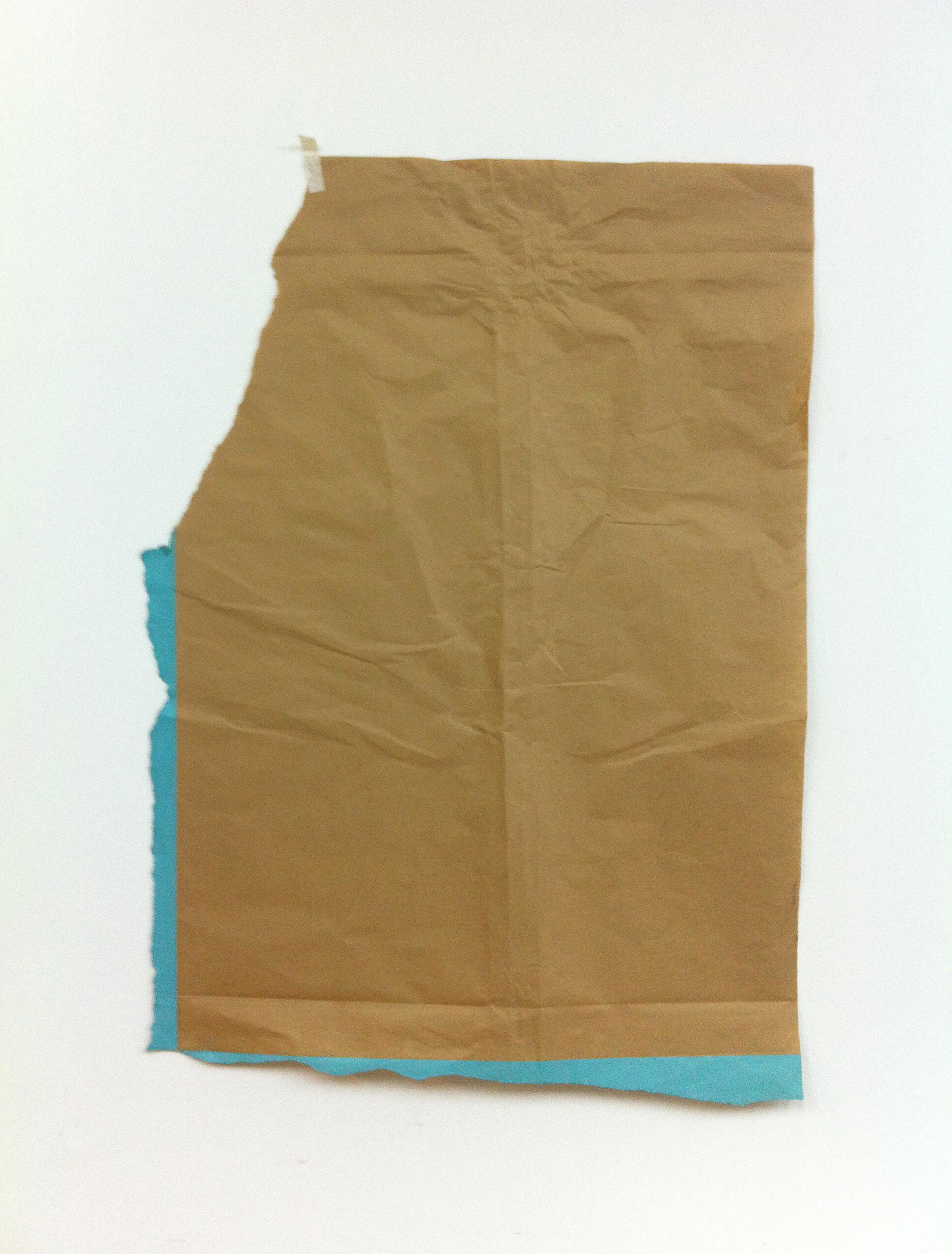 straight lines 2, 74 x 53 cms, óleo sobre papel