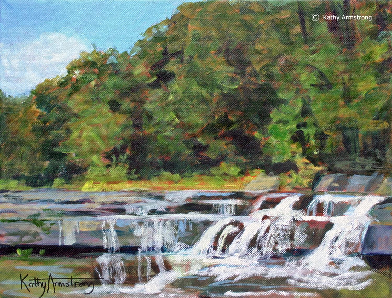 """""""Lower Taughannock Falls"""""""