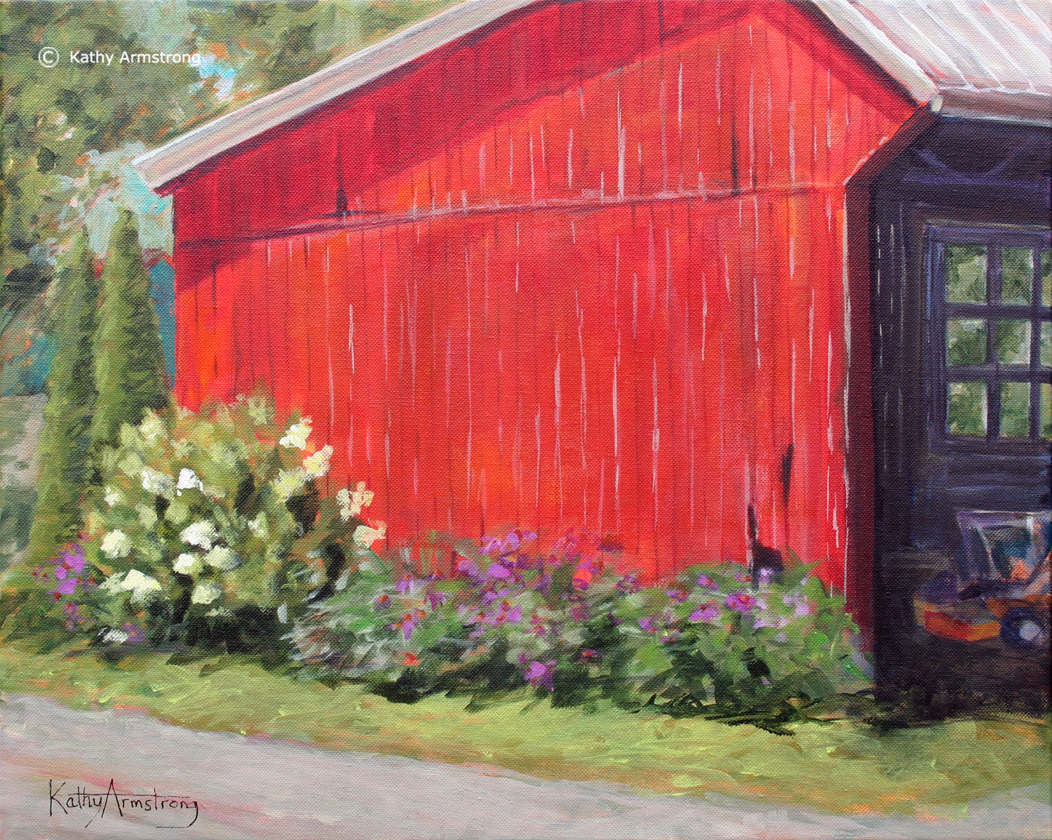 """The Red Shed"""