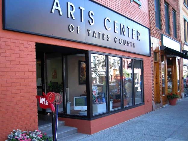 The Arts Center of Yates County. 127 Main Street, Penn Yan, NY