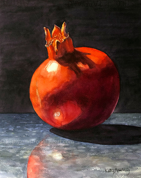 """Pomegranate on Granite"""