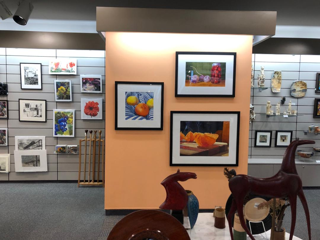 Original art as well as prints and cards are for sale at The Store @ MAG