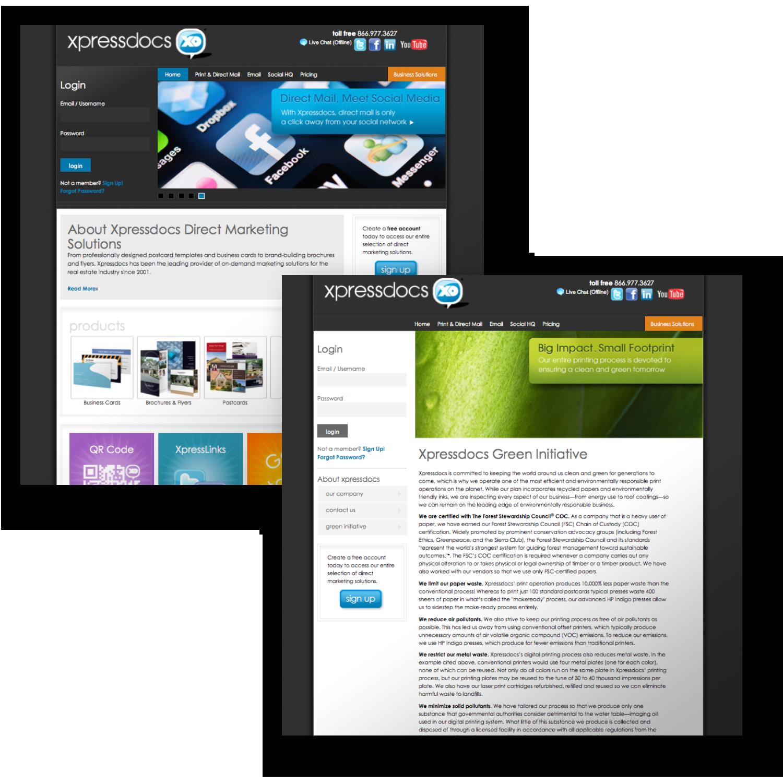 Xpressdocs.com Website