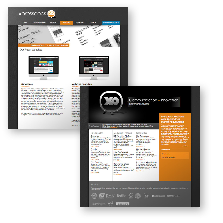 Xpressdocs Corporate Website