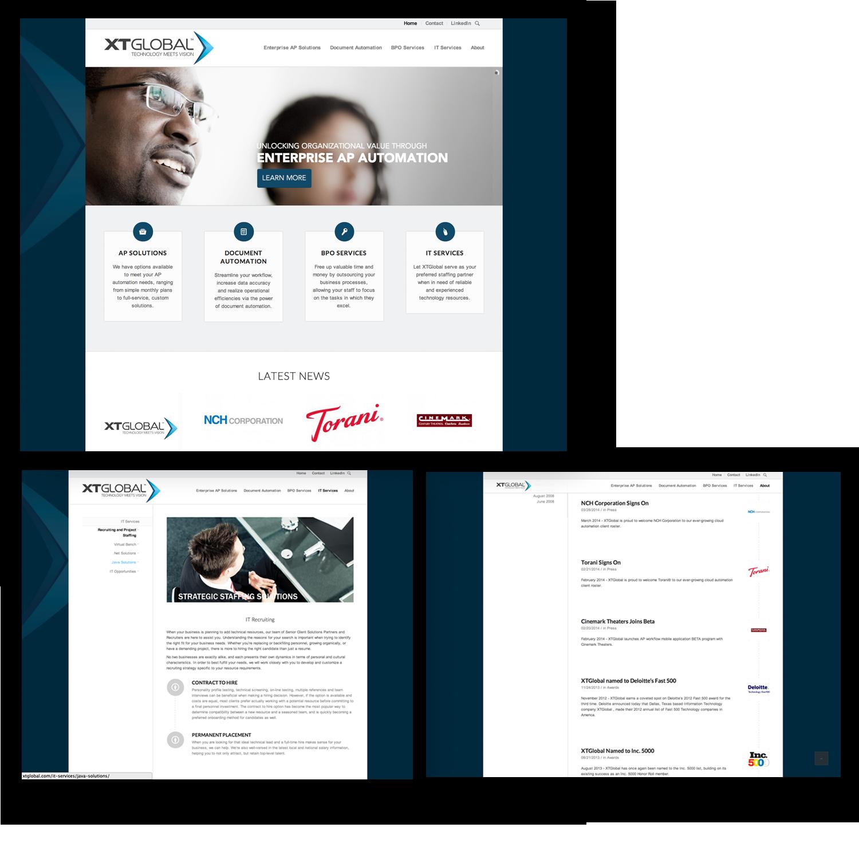 XTGlobal Corporate Website