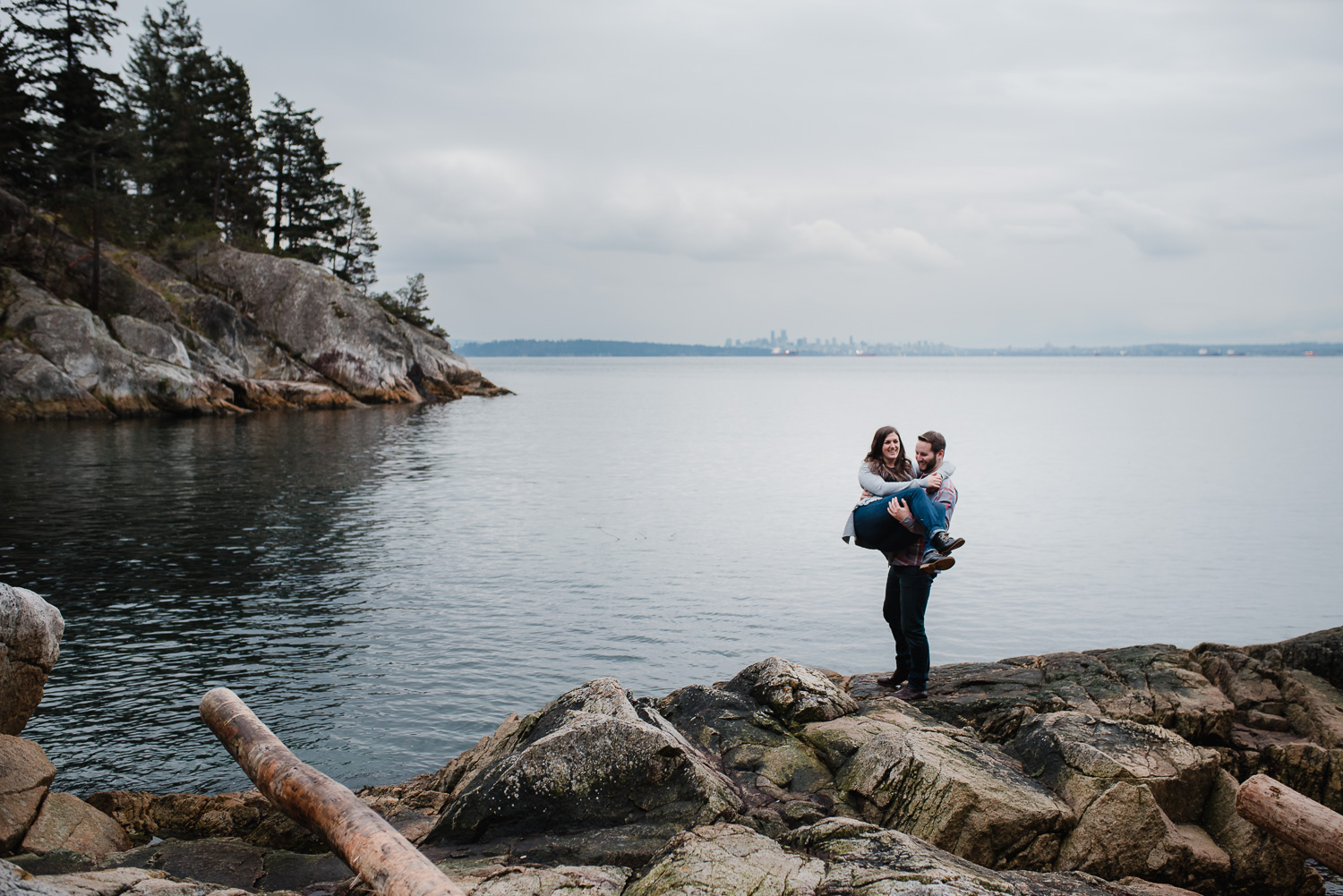 Lighthouse Park Engagement