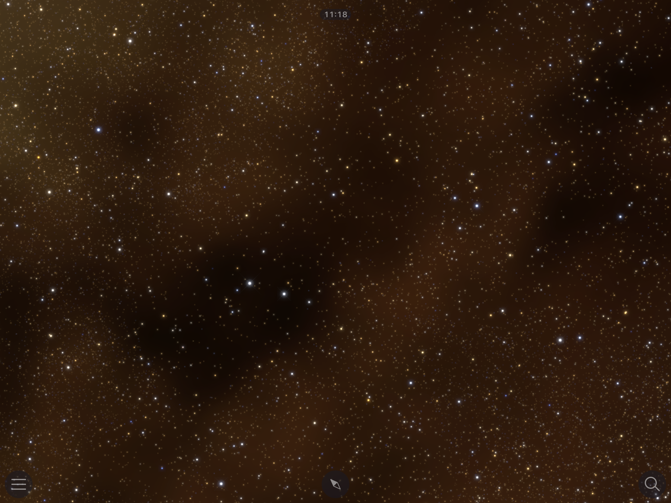 Before: Sagittarius region of the Milky Way