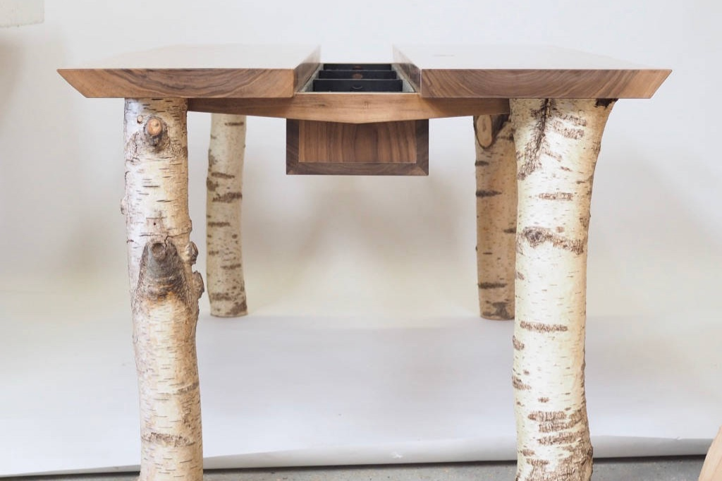 Walnut forage table from end.jpg