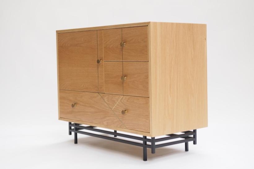 marquetry cabinet oak and brass steel.jpg