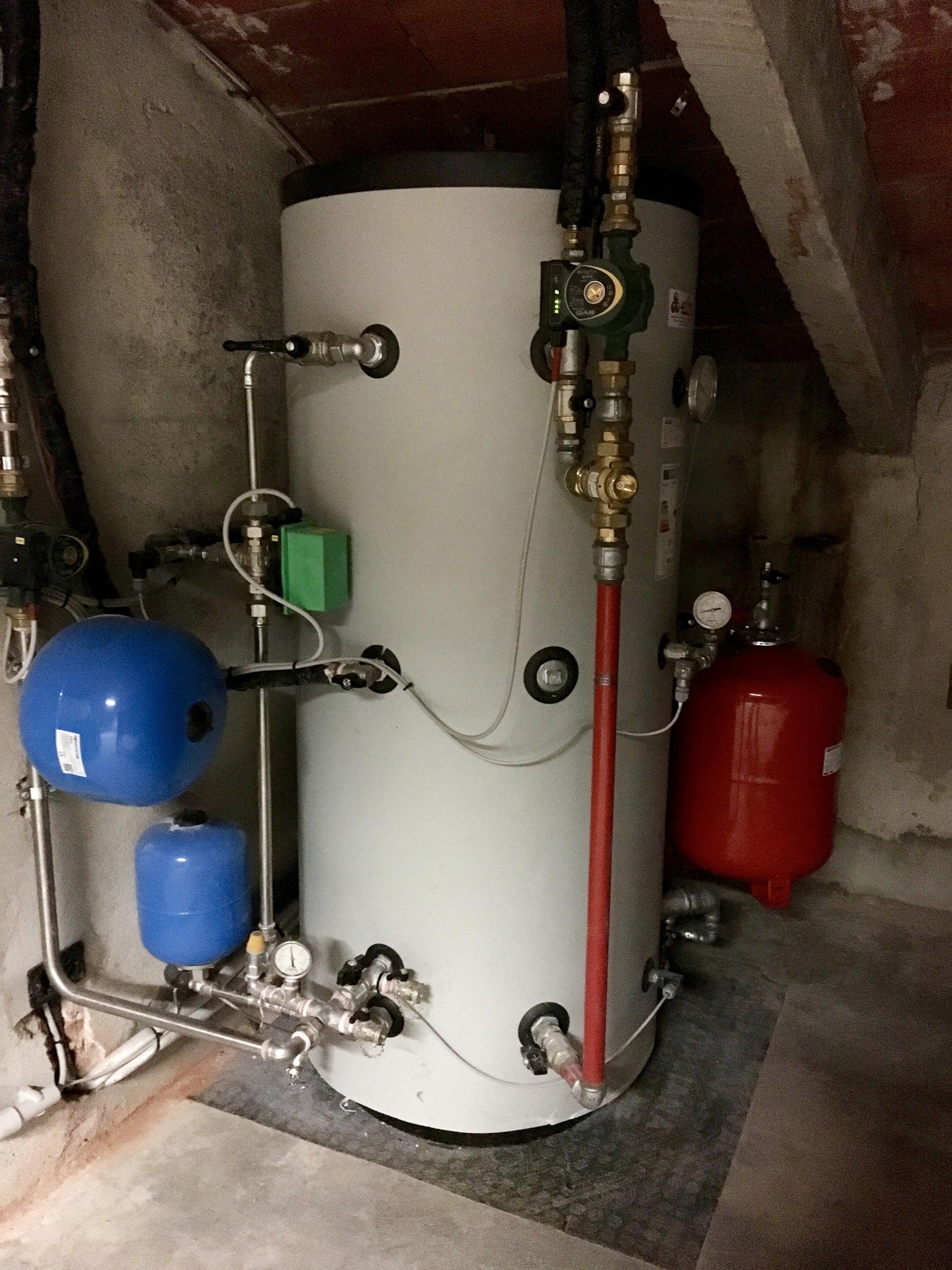 Bollitore cambi per biomassa
