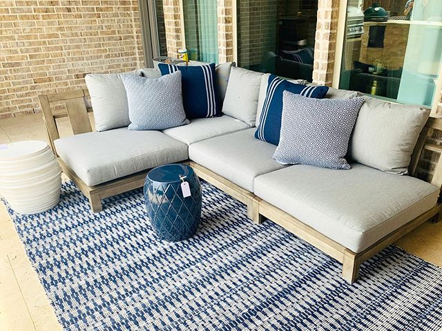 Install day part one. We love how this space is come together! Swipe for a wide angle & before shot. #designroots #outdoorliving #transformationtuesday